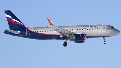 VP-BTJ - Airbus A320-214 - Aeroflot