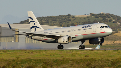 SX-DGY - Airbus A320-232 - Aegean Airlines
