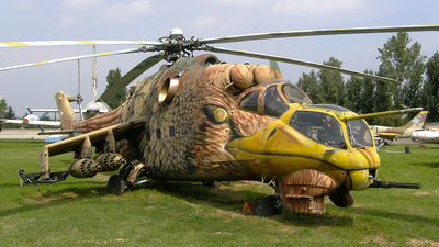 117 - Mil Mi-24D Hind D - Hungary - Air Force
