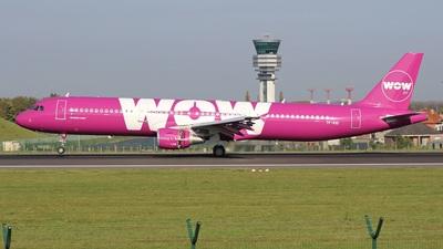 TF-KID - Airbus A321-211 - WOW Air