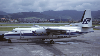 EC-BMU - Fokker F27-400 Friendship - Aviaco