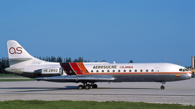 HK-2850 - Sud Aviation SE 210 Caravelle 11R - Aerosucre
