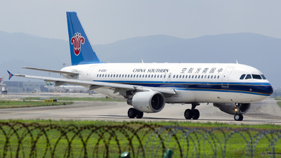 A picture of B6253 - Airbus A320214 - China Southern Airlines - © StephenLian-NGB