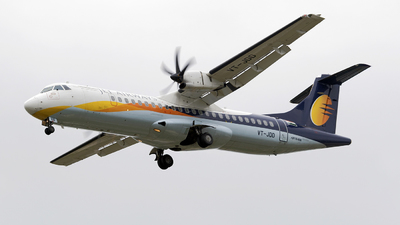 VT-JDD - ATR 72-212A(500) - Jet Airways