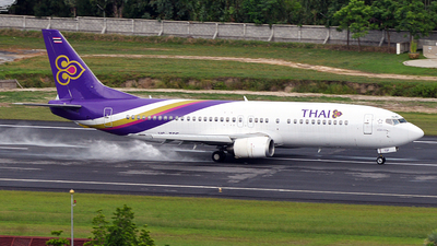 HS-TDF - Boeing 737-4D7 - Thai Airways International