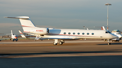 N728EC - Gulfstream G550 - Private