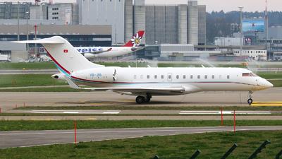 A picture of HBJRI - Bombardier Global 5000 -  - © Paula Byszewska