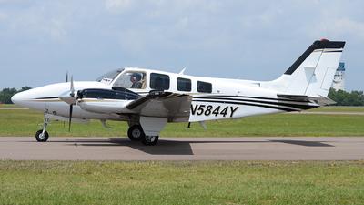 N5844Y - Beechcraft 58 Baron - Private