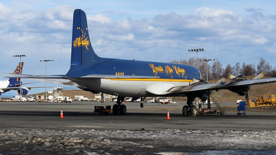 N451CE - Douglas C-118A Liftmaster - Everts Air Cargo
