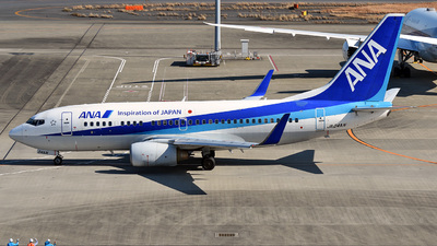 A picture of JA04AN - Boeing 737781 - All Nippon Airways - © 42 dono