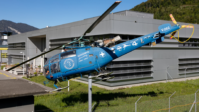 V-262 - Aérospatiale SA 316B Alouette III - Switzerland - Air Force