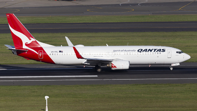 A picture of VHVXL - Boeing 737838 - Qantas - © MQ1131