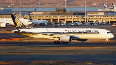 9V-SMJ - Airbus A350-941 - Singapore Airlines