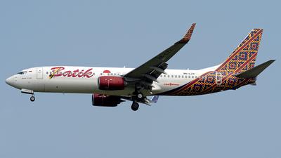 PK-LZY - Boeing 737-8GP - Batik Air