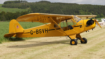 A picture of GBSVH - Piper J3C65 Cub - [15360] - © Ian Howat