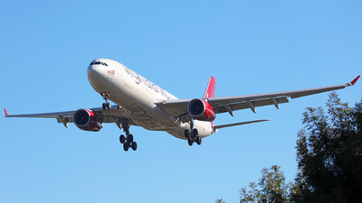 G-VGEM - Airbus A330-343 - Virgin Atlantic Airways