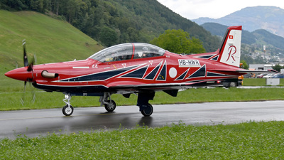 A picture of HBHWR - Pilatus PC21 -  - © Mirko Bleuer