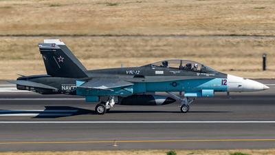 161924 - McDonnell Douglas F/A-18B Hornet - United States - US Navy (USN)
