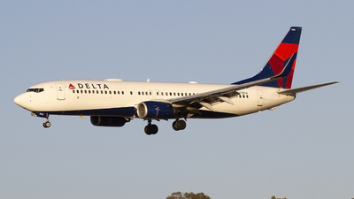 A picture of N373DA - Boeing 737832 - Delta Air Lines - © Jeremy D. Dando