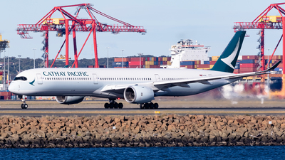 A picture of BLXI - Airbus A3501041 - Cathay Pacific - © Leon Aviation