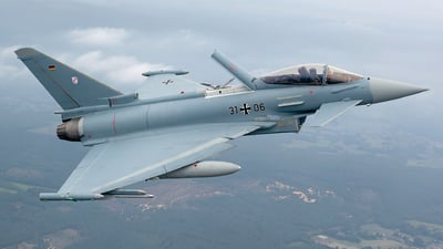 31-06 - Eurofighter Typhoon EF2000 - Germany - Air Force