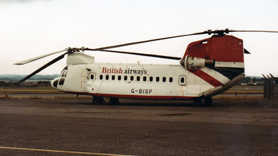 G-BISP - Boeing Vertol 234 - British Airways