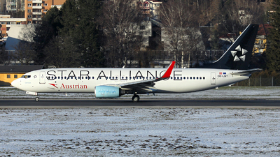 OE-LNT - Boeing 737-8Z9 - Austrian Airlines