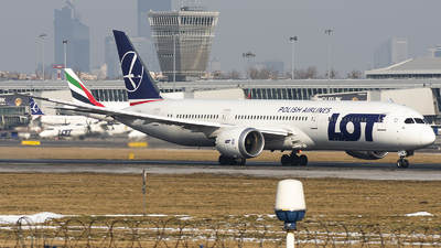SP-LSE - Boeing 787-9 Dreamliner - LOT Polish Airlines