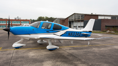 N833AD - Cirrus SR22-GTS G6 Carbon - Private