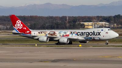 LX-VCM - Boeing 747-8R7F - Cargolux Airlines International
