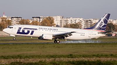 A picture of SPLLG - Boeing 73745D - LOT - © Karol Trojanowski