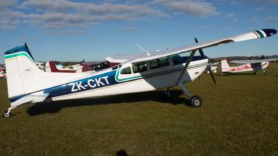 ZK-CKT - Cessna 185D Skywagon - Private