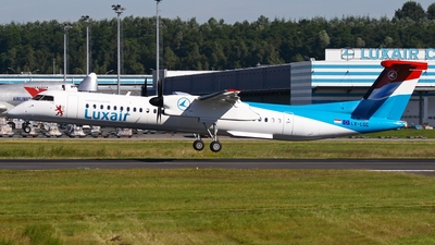LX-LGC - Bombardier Dash 8-Q402 - Luxair - Luxembourg Airlines