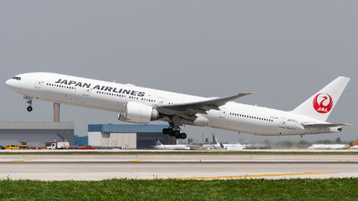 JA737J - Boeing 777-346ER - Japan Airlines (JAL)