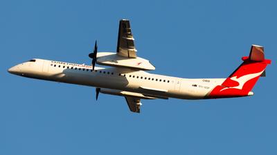 A picture of VHQOP - De Havilland Canada Dash 8400 - Qantas - © Brandon Giacomin