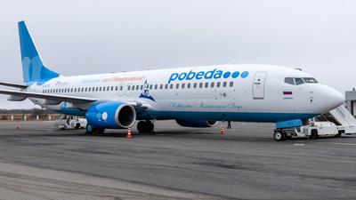 VQ-BTS - Boeing 737-8FZ - Pobeda