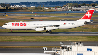 A picture of HBJMA - Airbus A340313 - Swiss - © OCFLT_OMGcat