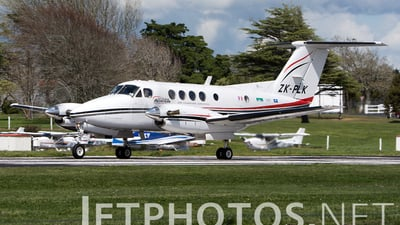 ZK-PLK - Beechcraft 200C Super King Air - Private