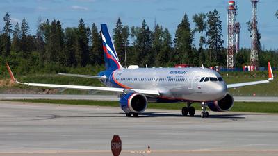 A picture of VPBPQ - Airbus A320251N - Aeroflot - © Ivan Goreza