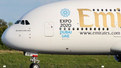 A6-EOQ - Airbus A380-861 - Emirates