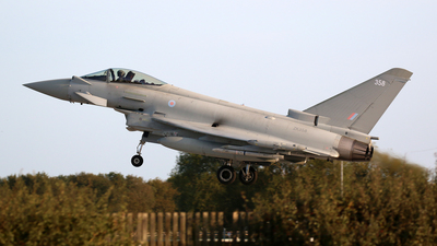 A picture of ZK358 - Eurofighter Typhoon FGR.4 -  - © Ian Nightingale
