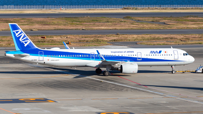A picture of JA136A - Airbus A321272N - All Nippon Airways - © LUSU