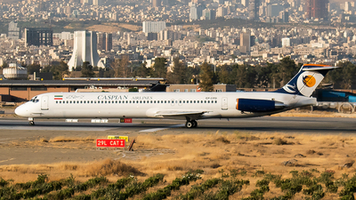 EP-CPD - McDonnell Douglas MD-83 - Caspian Airlines