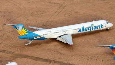 N407NV - McDonnell Douglas MD-83 - Allegiant Air