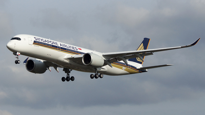 F-WZHI - Airbus A350-941 - Singapore Airlines