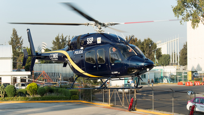 XC-DMM - Bell 429 Global Ranger - Mexico - Mexico City Police Department