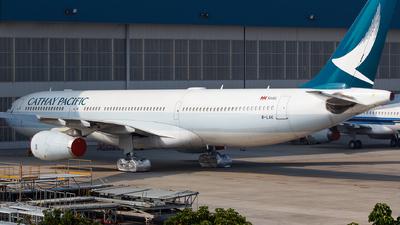 A picture of BLAK - Airbus A330343 - Cathay Pacific - © Aaron_ZSAM