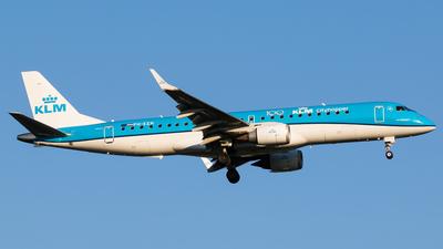 PH-EZN - Embraer 190-100STD - KLM Cityhopper