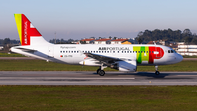 A picture of CSTTO - Airbus A319111 - TAP Air Portugal - © Carlos Miguel Seabra