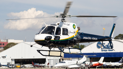 PP-CMT - Helibrás AS-350B2 Esquilo - Brazil - Military Police